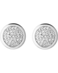 Links of London - Diamond Essentials Sterling Silver And Diamond Stud Earrings - Lyst