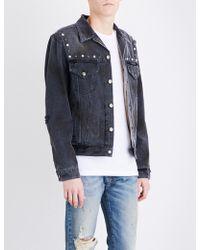 Gucci Hollywood Denim Jacket - Black