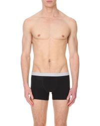 Hanro - Pack Of Two Cotton-jersey Trunks - Lyst