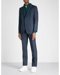 Gieves & Hawkes - Birdseye Regular-fit Virgin-wool Suit - Lyst
