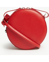 Vivienne Westwood - Red Anglomania Johanna Round Leather Cross Body Bag - Lyst