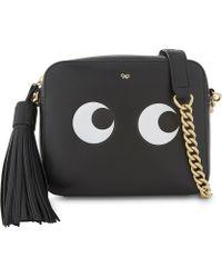 Anya Hindmarch - Leather Eyes Design Cross-body Bag - Lyst