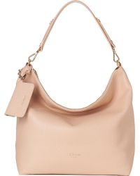 L.K.Bennett - Margot Leather Hobo Bag - Lyst