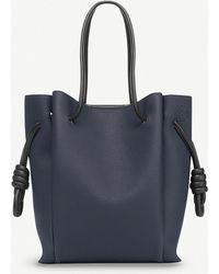 Loewe - Flamenco Knot Small Leather Bag - Lyst