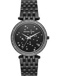 Michael Kors - Mk3787 Darci Stainless Steel And Crystal Quartz Watch - Lyst