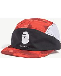 0187e086 Men's A Bathing Ape Hats Online Sale - Lyst