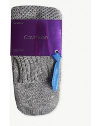 Calvin Klein - Holiday Luxury Sparkle Knitted Socks - Lyst