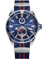 Ulysse Nardin - 263-10-3r/93 Maxi Marine Chronometer Stainless Steel Watch - Lyst