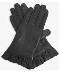Sandro - Gisele Leather Gloves - Lyst