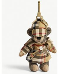 Burberry - Thomas Bear Trench Coat Cashmere Charm - Lyst