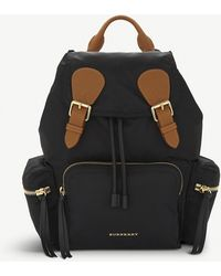 Burberry - Medium Nylon Backpack - Lyst