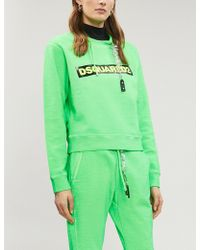 DSquared² - Logo Tape Sweatshirt - Lyst