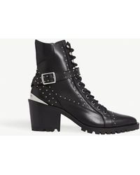 The Kooples - Steffy Leather High-top Boots - Lyst