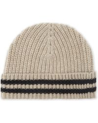 Zadig & Voltaire - Malo Ribbed Wool Beanie Hat - Lyst