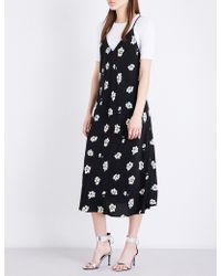 Mo&co. - Floral Slip Dress - Lyst