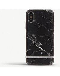 RICHMOND AND FINCH - Iphone X Black Marble Case - Lyst