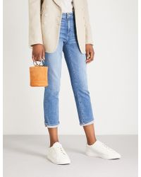 PAIGE - Jimmy Jimmy Straight High-rise Jeans - Lyst