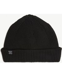 92a7182e36a Herschel Supply Co. Buoy Fisherman Beanie In Black in Black for Men ...