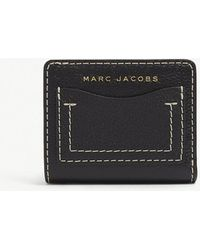 Marc Jacobs - Compact Grind Leather Wallet - Lyst