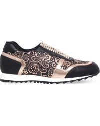 Gina - Olympic Leather Trainers - Lyst