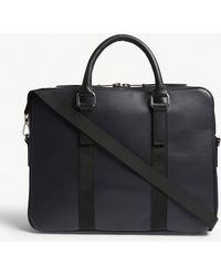 Sandro - Pebbled Leather Briefcase - Lyst