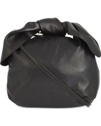 Simone Rocha - Knotted Small Leather Hobo Bag - Lyst