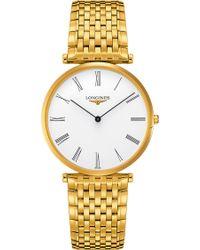 Longines - L4.766.2.11.8 La Grande Classique Watch - Lyst