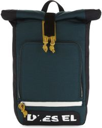 DIESEL - Embroidered Eagle Backpack - Lyst