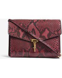 Burberry - Macken Small Python Skin Cross-body Bag - Lyst