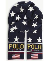 Polo Ralph Lauren - Stadium Wool-blend Scarf - Lyst