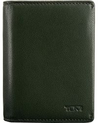 Tumi - Mason Gusseted Leather Card Case - Lyst