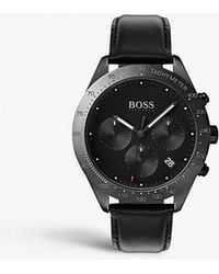 BOSS - 1513590 Talent Ion-plated Stainless Steel Watch - Lyst