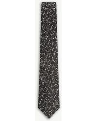 Givenchy | Spikes Silk Tie | Lyst