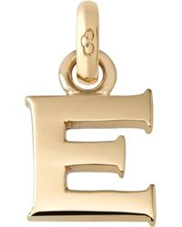 Links of London - E 18ct Yellow Gold Charm - Lyst