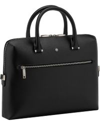 London Undercover - Westside Slim Leather Document Case - Lyst