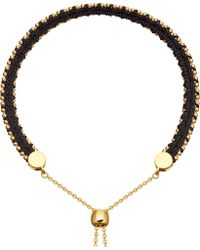 Astley Clarke - Kula Biography 18ct Yellow-gold Vermeil Midnight Bracelet - Lyst