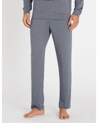 Emporio Armani - Patterned Modal-blend Pyjama Bottoms - Lyst