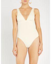 Marysia Swim - Nassau Plunge-neck Swimsuit - Lyst
