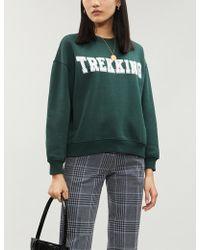 Claudie Pierlot - Trekking Cotton-blend Jersey Sweatshirt - Lyst