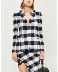 Altuzarra - Fenice Checked Wool Jacket - Lyst