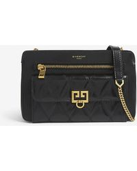 Givenchy - Pocket Quilted Leather Cross-body Bag - Lyst