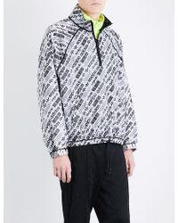 Alexander Wang - Reversible Shell Windbreaker Jacket - Lyst