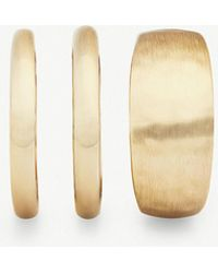 Kendra Scott - Terra 14ct Gold-plated Set Of 3 Rings - Lyst