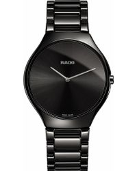 Rado - R27741182 True Thinline Ceramic Watch - Lyst