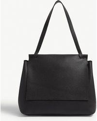 ffdb55c057285 The Row Top Handle 14 Bag in Black - Lyst