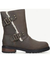 UGG - Niels Ii Water-resistant Leather Boots - Lyst