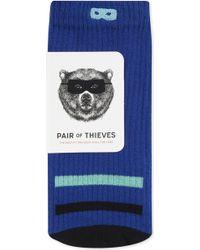 BOY London - Tonal Bar Print Cotton-blend Sports Crew Socks - Lyst