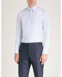 Thomas Pink - Freddie Super-slim Cotton Shirt - Lyst