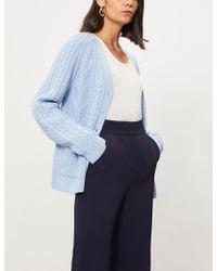 Emilia Wickstead - Kerry Wool-knit Cardigan - Lyst