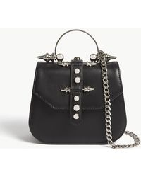 OKHTEIN - Edge Mini Leather Cross-body Bag - Lyst